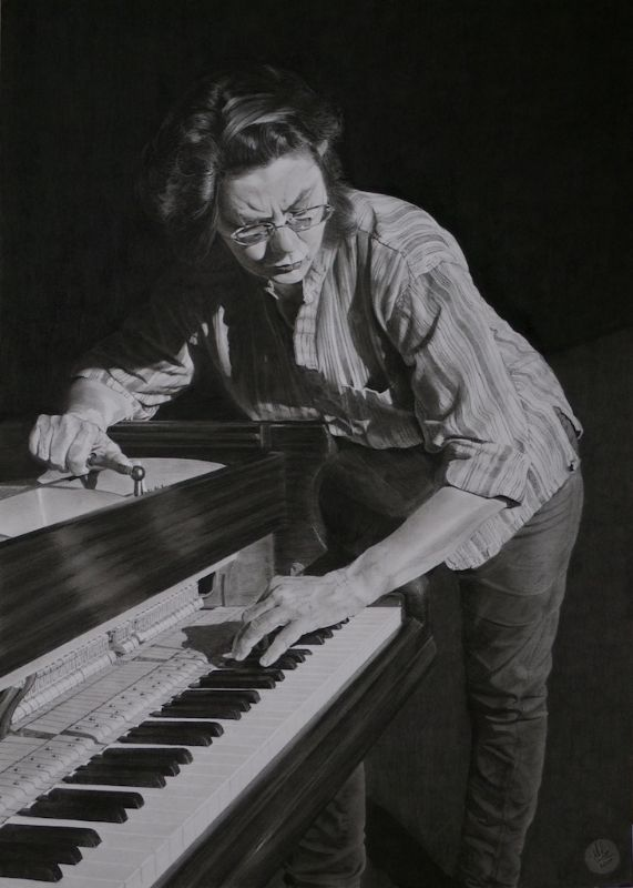 Kevin Line, Artist - The piano tuner